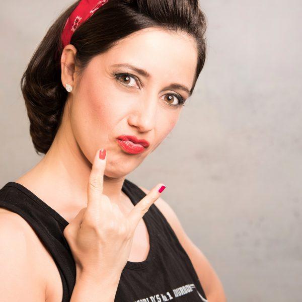 Make-up & Hairstyling mit Sandra Haas